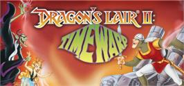 Banner artwork for Dragon's Lair 2: Time Warp.