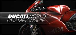 Banner artwork for Ducati World Championship.
