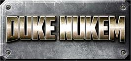 Banner artwork for Duke Nukem.
