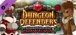 Banner artwork for Dungeon Defenders - Etherian Holiday Extravaganza.