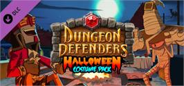 Banner artwork for Dungeon Defenders Halloween Costume Pack.