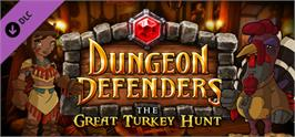 Banner artwork for Dungeon Defenders The Great Turkey Hunt! Mission & Costumes.