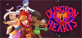 Banner artwork for Dungeon Hearts.