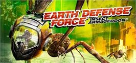 Banner artwork for Earth Defense Force: Insect Armageddon.