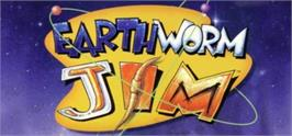 Banner artwork for Earthworm Jim.