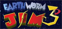 Banner artwork for Earthworm Jim 3D.