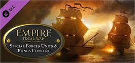 Banner artwork for Empire: Total War - Special Forces Units & Bonus Content.