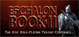 Banner artwork for Eschalon: Book II.
