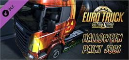 Banner artwork for Euro Truck Simulator 2 - Halloween Paint Jobs Pack.