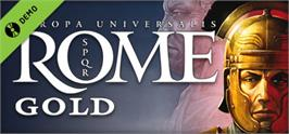 Banner artwork for Europa Universalis: Rome - Gold Edition.
