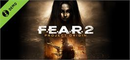 Banner artwork for F.E.A.R.2: Project Origin Demo.