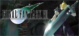 Banner artwork for FINAL FANTASY VII.