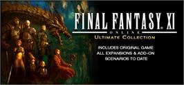 Banner artwork for FINAL FANTASY XI Ultimate Collection - Abyssea Edition.