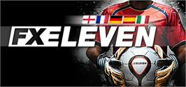 Banner artwork for FX Eleven - The Football Manager for Every Fan.
