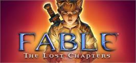 Banner artwork for Fable - The Lost Chapters.