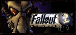 Banner artwork for Fallout 2: A Post Nuclear Role Playing Game.