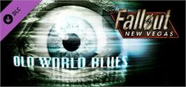 Banner artwork for Fallout New Vegas: Old World Blues.