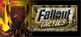 Banner artwork for Fallout Tactics: Brotherhood of Steel.
