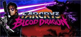 Banner artwork for Far Cry 3 - Blood Dragon.