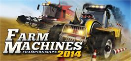 Banner artwork for Farm Machines Championships 2014.