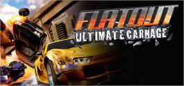 Banner artwork for FlatOut: Ultimate Carnage.