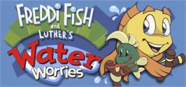 Banner artwork for Freddi Fish and Luther's Water Worries.