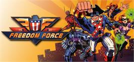 Banner artwork for Freedom Force.