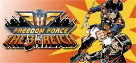 Banner artwork for Freedom Force vs. the Third Reich.
