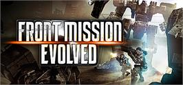 Banner artwork for Front Mission Evolved.