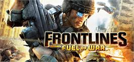 Banner artwork for Frontlines: Fuel of War.