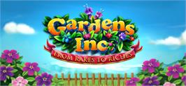 Banner artwork for Gardens Inc.  From Rakes to Riches.