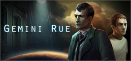 Banner artwork for Gemini Rue.