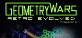 Banner artwork for Geometry Wars: Retro Evolved.