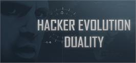 Banner artwork for Hacker Evolution Duality.