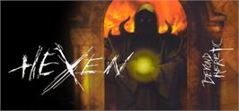 Banner artwork for HeXen: Beyond Heretic.