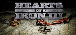 Banner artwork for Hearts of Iron III.