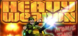 Banner artwork for Heavy Weapon Deluxe.