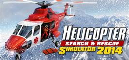 Banner artwork for Helicopter Simulator 2014: Search and Rescue.