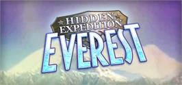 Banner artwork for Hidden Expedition: Everest.