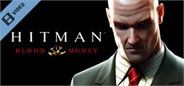 Banner artwork for Hitman: Blood Money.
