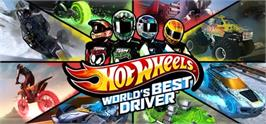 Banner artwork for Hot Wheels Worlds Best Driver.
