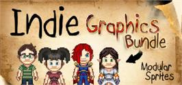 Banner artwork for Indie Graphics Bundle - Royalty Free Sprites.