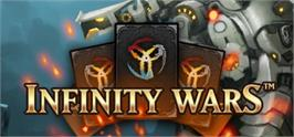 Banner artwork for Infinity Wars - Animated Trading Card Game.