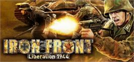 Banner artwork for Iron Front: Liberation 1944.