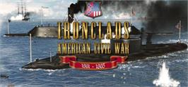 Banner artwork for Ironclads: American Civil War.