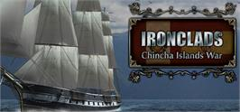 Banner artwork for Ironclads: Chincha Islands War 1866.