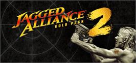 Banner artwork for Jagged Alliance 2 Gold.