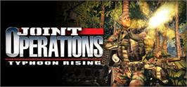 Banner artwork for Joint Operations: Typhoon Rising.