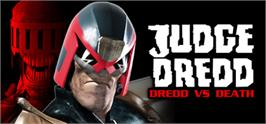Banner artwork for Judge Dredd: Dredd vs. Death.