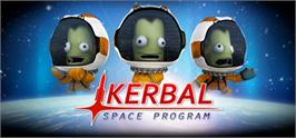 Banner artwork for Kerbal Space Program.